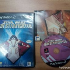 Videojuegos y Consolas: STAR WARS JEDI STARFIGHTER STAR FIGHTER - PS2 PLAYSTATION 2 PLAY STATION PAL ESP. Lote 172312818