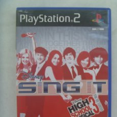 Videojuegos y Consolas: PLAYSTATION.2 : HIGH SCHOOL MUSICAL 3 , FIN DE CURSO . DE DISNEY SING IT. Lote 172362615