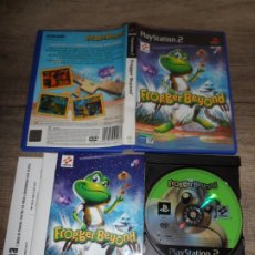 Videojuegos y Consolas: PS2 FROGGER BEYOND PAL ESP COMPLETO. Lote 172383249