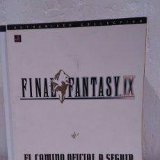Videojuegos y Consolas: GUÍA OFICIAL DE FINAL FANTASY IX. Lote 172416847