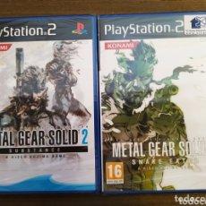 Videojuegos y Consolas: METAL GEAR SOLID 2 Y 3. ¡¡¡PRECINTADOS!!! PS2. LOTE PACK. Lote 172522854