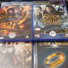 Videojuegos y Consolas: EL SEÑOR DE LOS ANILLOS PS2. Lote 172698192