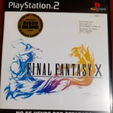 Videojuegos y Consolas: FINAL FANTASY X PARA PLAY STATION 2. PS2. Lote 172756425