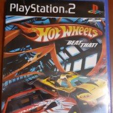 Videojuegos y Consolas: HOT WHEELS BEAT THAT! PARA PLAY STATION 2. PS2. Lote 172756570