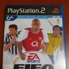 Videojuegos y Consolas: FIFA 2004 PARA PLAY STATION 2. PS2. Lote 172766552