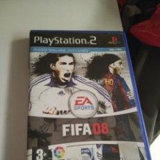 Videojuegos y Consolas: C-TINO19 PS2 PLAYSTATION 2 PS2 FIFA 08. Lote 172789033