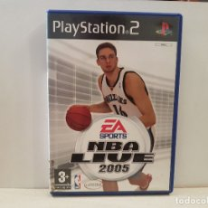 Videojuegos y Consolas: SONY PS2 NBA LIVE 2005 PLAYSTATION 2 BUEN ESTADO VER FOTOS. Lote 172792728