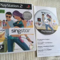 Videojuegos y Consolas: SINGSTAR 1 SING STAR PS2 PLAYSTATION 2 PLAY STATION TWO KREATEN. Lote 172914092