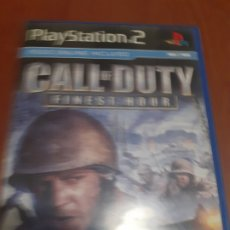 Videojuegos y Consolas: CALL OF DUTY FINEST HOUR. PS2 PLAY STATION 2. Lote 172931787