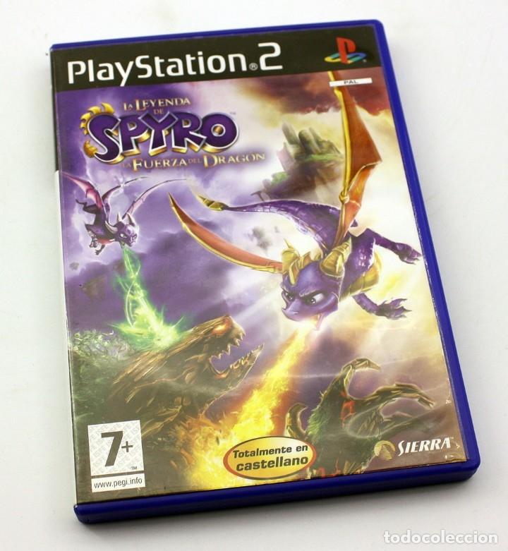 PS2 - LA LEYENDA DE SPYRO - LA FUERZA DEL DRAGON - VERSIÓN ESPAÑOLA (Juguetes - Videojuegos y Consolas - Sony - PS2)