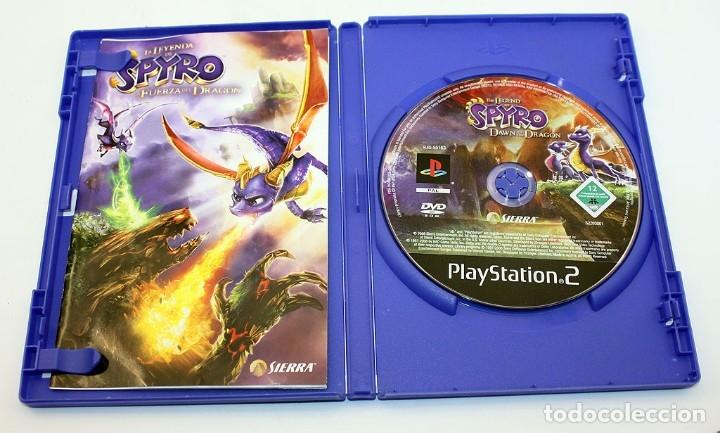 Videojuegos y Consolas: PS2 - LA LEYENDA DE SPYRO - LA FUERZA DEL DRAGON - VERSIÓN ESPAÑOLA - Foto 2 - 211564175
