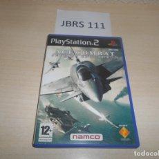 Videojuegos y Consolas: PS2 - ACE COMBAT - JEFE DE ESCUADRON , PAL ESPAÑOL , COMPLETO. Lote 173575138