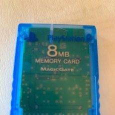 Videojuegos y Consolas: ANTIGUA TARJETA MEMORY CARD 8MB PLAYSTATION 2 DE SONY. Lote 174001399