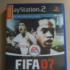 Videojuegos y Consolas: FIFA 07 - JUEGO ORIGINAL PARA PLAY STATION 2. Lote 174062823