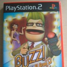 Jeux Vidéo et Consoles: BUZZ! - EL GRAN CONCURSO MUSICAL - JUEGO ORIGINAL PARA PLAY STATION 2. Lote 174063027