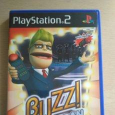 Videojuegos y Consolas: BUZZ! EL GRAN RETO - JUEGO ORIGINAL PARA PLAY STATION 2. Lote 174063099