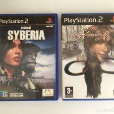 Videojuegos y Consolas: SYBERIA Y SYBERIA II - PLAYSTATION 2. Lote 174067842