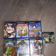 Videojuegos y Consolas: 7 JUEGOS PLAY 2. Lote 174075552