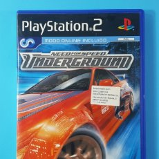 Videojuegos y Consolas: NEED FOR SPEED UNDERGROUND PLAYSTATION 2 PS2 PAL DVD TOTALMENTE EN CASTELLANO EA GAMES . Lote 174184379