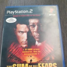 Videojuegos y Consolas: THE SUM OF ALL FEARS PANICO NUCLEAR PLAY STATION 2 PS2. Lote 174454864
