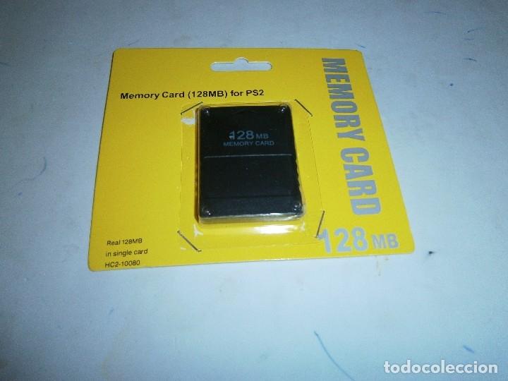 MEMORIA 128 MB PLAYSTATION 2 NUEVA Y PRECINTADA (Juguetes - Videojuegos y Consolas - Sony - PS2)
