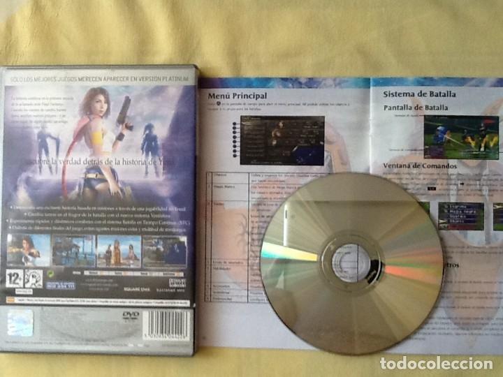 Videojuegos y Consolas: VIDEO JUEGO. PLAYSTATION 2. FINAL FANTASY. X-2. CON EL LIBRO DE INSTRUCCIONES. PERFECTO ESTADO. - Foto 2 - 220799517