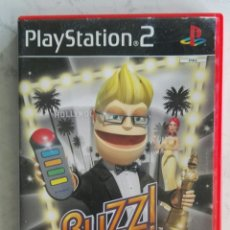 Videojuegos y Consolas: BUZZ! HOLLYWOOD PS2 PLAYSTATION. Lote 175324377