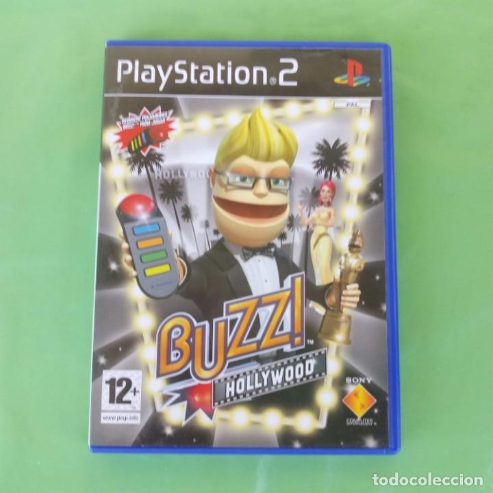 BUZZ HOLLYWOOD PLAYSTATION 2 (Juguetes - Videojuegos y Consolas - Sony - PS2)