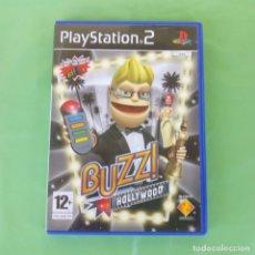 Videojuegos y Consolas: BUZZ HOLLYWOOD PLAYSTATION 2. Lote 175578809