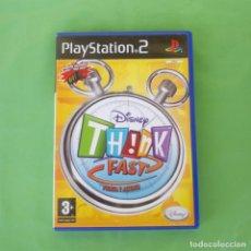 Videojuegos y Consolas: THINK FAST PIENSA Y ACIERTA PLAYSTATION 2. Lote 175579334