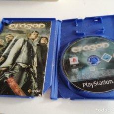Videojuegos y Consolas: G-47 PS2 PLAYSTATION 2 SIN CARATULA SOLO CD Y MANUAL ERAGON. Lote 215690030