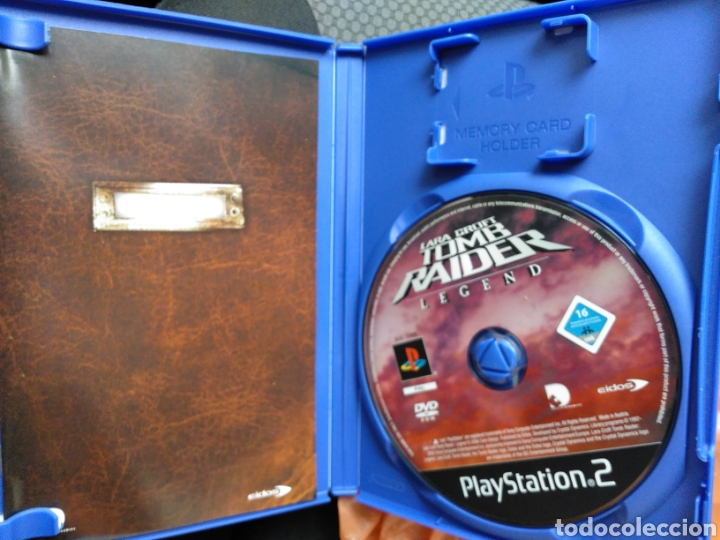 Lara Croft Tomb Raider Legend Ps2 Sold Through Direct Sale 175980213