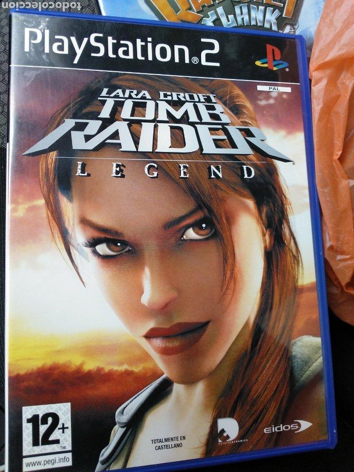 Lara Croft Tomb Raider Legend Ps2 Sold Through Direct Sale