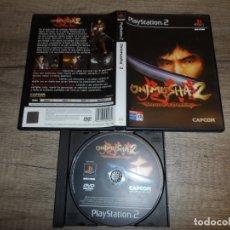 Videojuegos y Consolas: PS2 ONIMUSHA 2 SAMURAI'S DESTINY PAL ESP SIN MANUAL. Lote 176051497