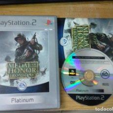 Videojuegos y Consolas: MEDAL OF HONOR FRONTLINE SONY PLAYSTATION 2 PS2. Lote 176258139