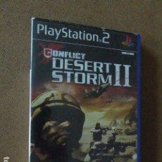 Videojuegos y Consolas: CONFLICT: DESERT STORM II. CON INSTRUCCIONES. PS2.. Lote 176635682