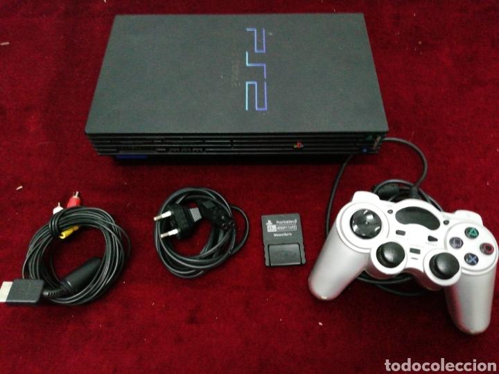 PLAY STATION 2. FUNCIONA. CON CABLES, MEMORY CARD Y UN MANDO (NO ORIGINAL) (Juguetes - Videojuegos y Consolas - Sony - PS2)