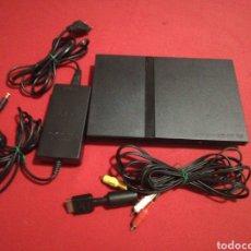 Videojuegos y Consolas: CONSOLA PS2 SLIM. Lote 177217042