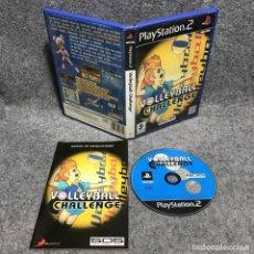 Videojuegos y Consolas: VOLLEYBALL CHALLENGE SONY PLAYSTATION 2 PS2. Lote 177232699