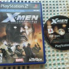 Videojuegos y Consolas: X-MEN LEGENDS II EL ASCENSO DE APOCALIPSIS XMEN X MEN PS2 PLAYSTATION 2 PLAY STATION TWO KREATEN. Lote 177466222
