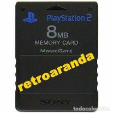 Videojuegos y Consolas: MEMORY CARD PS2 8 MB ORIGINAL Y EN EXCELENTE ESTADO.. Lote 177517303