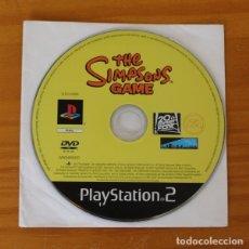 Videojuegos y Consolas: THE SIMPSONS, EL VIDEOJUEGO. SOLO DISCO PLAYSTATION 2 PLAY PS2 EA SPORTS SIMPSON. Lote 177554169