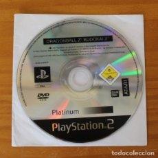 Videojuegos y Consolas: DRAGONBALL Z BUDOKAI 2. SOLO DISCO PLAYSTATION 2 PLAY PS2 BANDAI DRAGON BALL. Lote 177554438