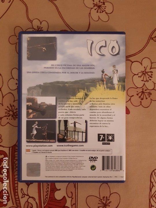 Videojuegos y Consolas: Juego ICO Play Station 2 PS2 - Foto 2 - 177572994