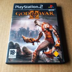 Videojuegos y Consolas: JUEGO PLAYSTATION 2 PS2 GOD OF WAR II (SONY, 2007). INCLUYE MANUAL.. Lote 183541078