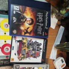 Videojuegos y Consolas: LOTE 3 JUEGOS PLAYSTATION 2 PS2. HARRY POTTER, GTA III Y CRASH NITRO KART PLATINUM. Lote 177782005