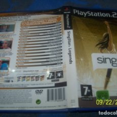 Videojuegos y Consolas: SINGSTAR LEGENDS PS2. Lote 177951608