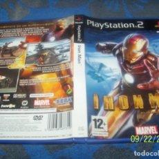 Videojuegos y Consolas: IRON MAN PLAYSTATION 2 PAL ESPAÑA COMPLETO. Lote 177952043