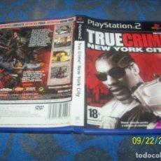 Videojuegos y Consolas: TRUE CRIME NEW YORK CITY PS2 . Lote 177956273