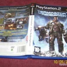 Videojuegos y Consolas: TERMINATOR 3 THE REDEMPTION PS2 PAL ESP COMPLETO. Lote 178625798
